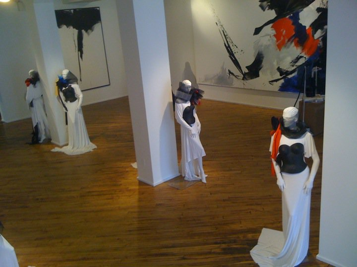 EcoArtFAshion by Luis VAlenzuela at the Chelsea ArtMuseum April 2011