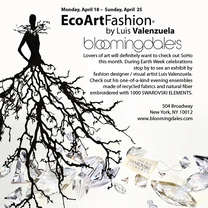 Earth Day 2011 EcoArtFashion at Bloomingdales Soho