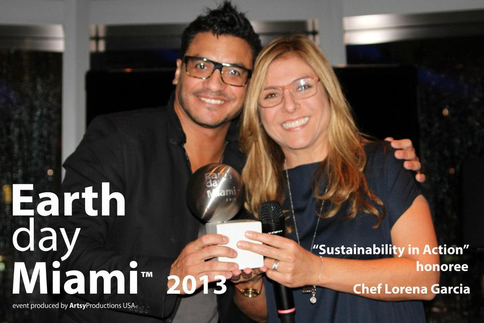 Earth Day Miami, Celebrity Chef Lorena Garcia